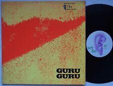 GURU GURU Debut Lp UFO 1971 GERMAN Progressive/Krautrock OHR Gatefold Vinyl PROG