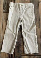 Gymboree Boys NWT Dressy Church Linen Pants Tan Khaki Size 5