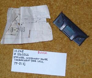 1979-81 Buick Riviera Glove Box Lock Striker NOS 1260566