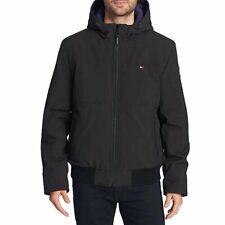 Men's Tommy Hilfiger Men's Soft Bomber Jacket Size XL Black