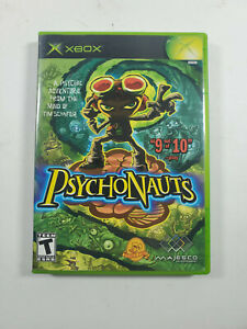 Psychonauts Microsoft Xbox 2005 Complete with Manual
