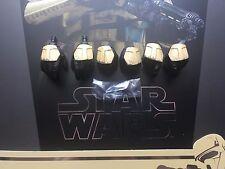 Hot Juguetes Star Wars Rogue uno shoretrooper manos X 6 & Clavijas Suelto Escala 1/6th