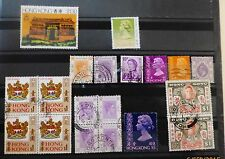 Hong Kong  Good Collection of Stamps     Free Shipping