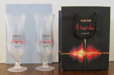 Celine Dion 2 Hurricane Glasses & Bag From A New Day 2003