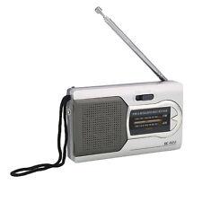 Portable Radio World Receiver Antenne télescopique Slim Pocket Mini Radio AM/FM