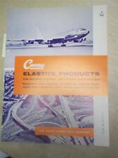 Philip Carey Mfg Co Catalog~Elastite~Sewertite Compound Asbestos~1961