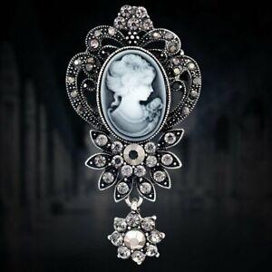 400pcs Mix Cameo Brooch Pins Women Wedding Jewelry Gifts