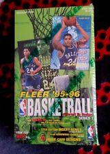 1995-1996 Fleer Basketball Series 1 [Factory Sealed Box,36 Packs,Michael Jordan]