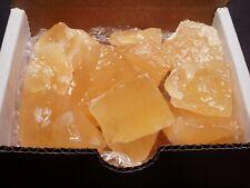 Orange Calcite Collection 1/2 Lb 10-12 Gemstones Natural Color Mineral Specimens