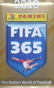 PANINI FIFA 365 THE GOLDEN WORLD OF FOOTBALL 2019 NUMBERS STICKERS 1 - 239