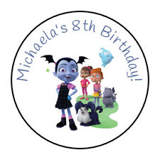 30 Personalized VaMpiriNa party stickers,labels,birthday, favors,supplies,tags