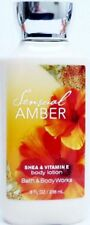 Bath & Body Works Sensual Amber Body Lotion ~ 8 oz ~ Ships Free!!!