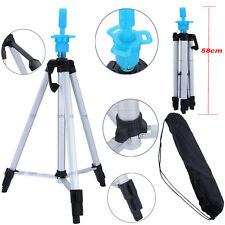 "55"" Hair Salon Cosmetology Mannequin Tripod For Training Head Doll Stand Holder#"