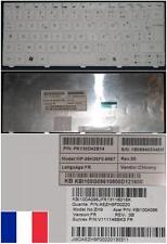 TECLADO AZERTY Blanco para PACKARD BELL DOT KB.I100G.158 KBI100G158 9Z.N3K82.B0F
