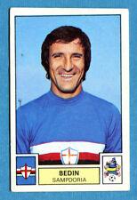 CALCIATORI 1975-76 Panini - Figurina-Sticker n. 264 - BEDIN -SAMPDORIA-New
