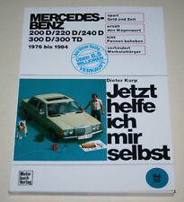Reparaturanleitung Mercedes W123 Diesel 200 240 300 D TD, Baujahre 1976 - 1984