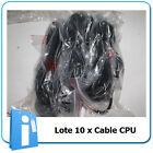 Lote Cables 10 x Alimentacion Schuko to iEC C13 3 Pin ESTANDAR 16A 1.8 M cable