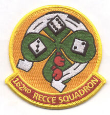 162nd RECCE SQUADRON HERITAGE  patch