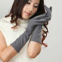 2015 LADIES warm wool long gloves Y003