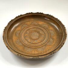 large decorative wooden bowl