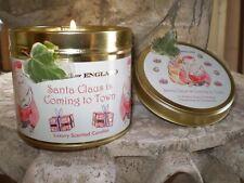 Navidad De Lujo Vela Perfumada Estaño, Clementine & Canela, Lento ardor, 60 horas
