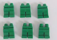 Lego 6  Leg  Legs Lower Parts For Minifigures Figure Green