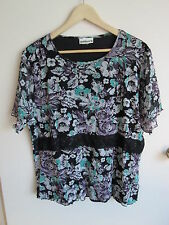 MILLERS   size  20   Lovely Soft Lacy s/sleeved SUMMER top