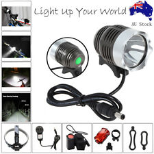 Cree Xm-l T6 LED Bike Bicycle Light Headlight Headlamp with Battery Charger Pack