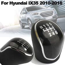 6 Speed Leather Car Manual Gear Shift Knob Head Ball For Hyundai IX35
