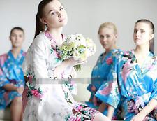 Bridesmaid Silk Robe set of 9/7/ 3/5   Dress gowns bride robe wedding party robe