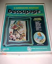 Craft Masters General Mills 3-Dimensional Decoupage Kit Little Miss 49204 New