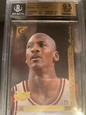 🔥1995-96 Topps Gallery Player's Private Issue Michael Jordan BGS 9.5-Non Higher