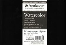 Strathmore 400 Series Softcover Watercolor Art Journal 48 Pages 8 X 5.5 Inch