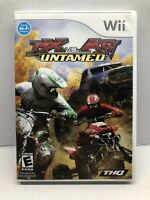MX vs. ATV Untamed (Nintendo Wii, 2008) Complete w/ Manual - Tested Working
