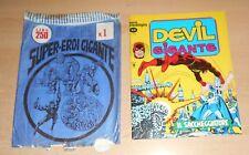 ED.CORNO SERIE DEVIL GIGANTE  N°  5 1977  CON BUSTA ORIGINALE APERTA  N° 1 !!!!!