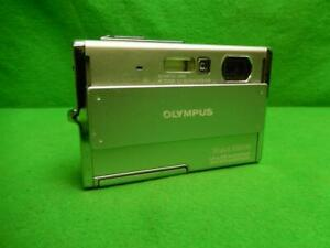 Olympus Stylus Tough 1050SW 10.1MP Digital Camera - Silver w/ Battery & Charger