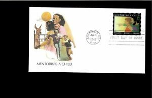 2002 First day Cover Mentoring a Child Annapolis MD