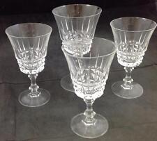 Cris D'Arques TUILLERIES 3 Wine Glasses & 1 Goblet GREAT CONDITION