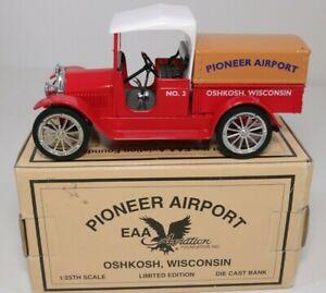 Vintage Eastwood Pioneer Airport EAA Aviation Truck Bank Studebaker 1920's 1930s