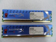 8 GB 2x 4 GB 1600 MHz Kingston Hyperx RAM DIMM DDR3 computadora de escritorio KHX1600C9D3K2