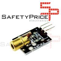 Modulo LASER 5mW 6mm transmisor KY-008 650nm 5V Arduino