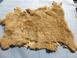 sheepskin leather hide Cognac Toscana long thick curly ringlet silky hair