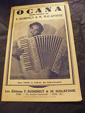 Partition Ocana Dominicy & M Malafosse Paso Doble