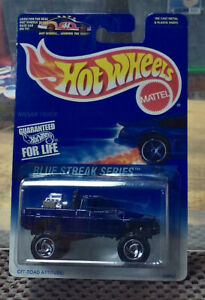 1997 Hot Wheels Nissan Truck Blue Streak Series  NIB