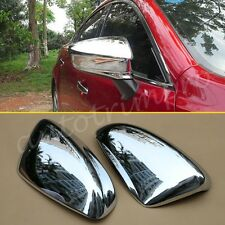 2X ABS Chrome Rear View Side Mirror Cover Trim For Mazda6 ATENZA 2014-2017 Parts