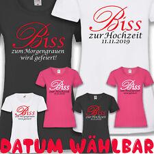 JGA Twilight Braut Junggesellinnenabschied Party Feiern Damen T-Shirt XS-5XL