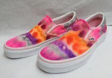 OAK Vans Canvas Sharpie Hand Tie Dyed Slip-On Skate Shoes M- 6.0/W-7.5 NWOT