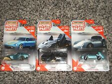 2020 Mattel Matchbox Moving Parts Lot 55 Porsche Spyder Datsun 280 Lamborghini