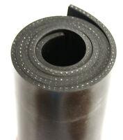 1000x80x3mm mit Gewebe Gummiauflage Gummistreifen Gummiplatte Gummimatte Gummi