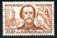 STAMP / TIMBRE FRANCE OBLITERE N° 1212 / CELEBRITE / BARTHOLDI